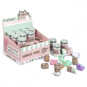 Mini figurka w niespodziance Pusheen – display 12 szt