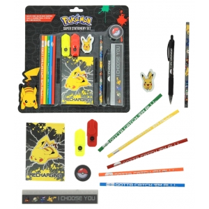 Duży zestaw szkolny Pokemon Sun & Moon