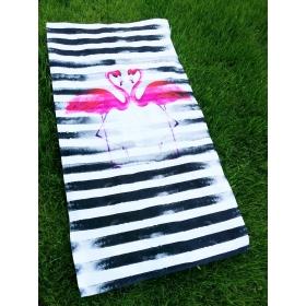 Ręcznik kąpielowy / plażowy Flaming