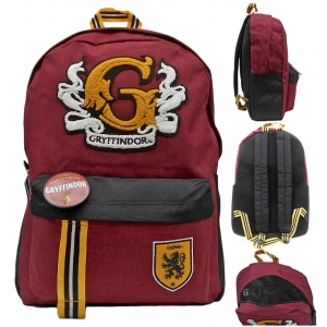 Plecak z odznakami Gryffindor Harry Potter