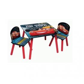 Zestaw drewniany stół i krzesła Cars – Auta