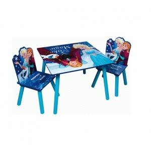 Zestaw drewniany stół i krzesła Frozen – Kraina Lodu