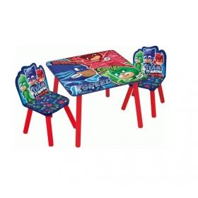 Zestaw drewniany stolik i krzesła Pidżamersi