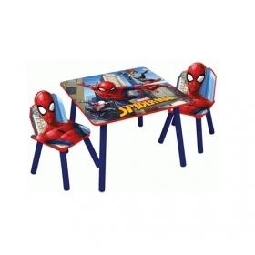 Zestaw drewniany stolik i krzesła Spiderman