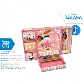 Pudełko na biżuterię z pozytywką Vaiana