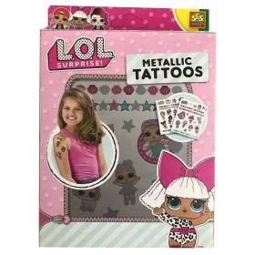 Tatuaże metaliczne LOL Surprise