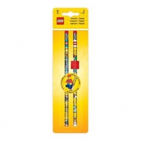 Zestaw ołówków z klockiem mocującym Lego