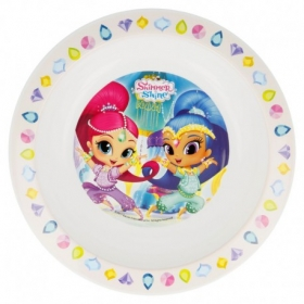 Talerz do mikrofali Shimmer i Shine