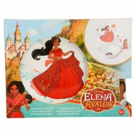 Zestaw śniadaniowy ceramiczny 3 szt Elena z Avaloru