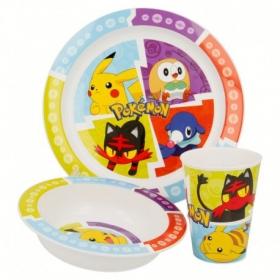 Zestaw śniadaniowy do mikrofali 3 szt Pokemon