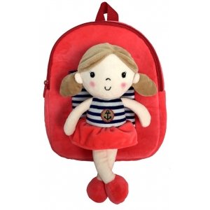 Plecak z odpinaną lalką