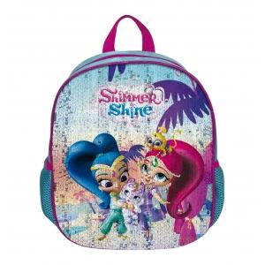 Plecak z cekinami zmieniającymi wzór Shimmer i Shine