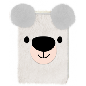 Zeszyt pluszowy Happy Zoo