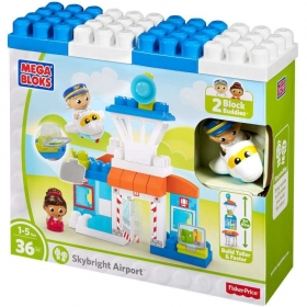 Mega Bloks Fisher Price Skybride Airport DPJ56