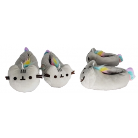 Kapcie / pantofle pluszowe Pusheen Jednorożec