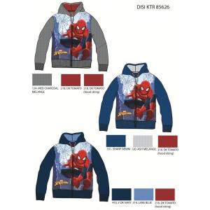 Bluza rozpinana z kapturem Spiderman