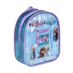 Plecak z akcesoriami do włosów Frozen - Kraina Lodu