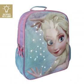 Plecak Frozen - Kraina Lodu ze światełkami LED 41 cm