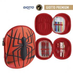 Piórnik 3D z wyposażeniem Spiderman