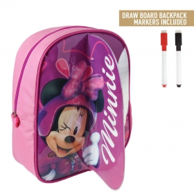 Plecak z tablicą suchościeralną do malowania Myszka Minnie