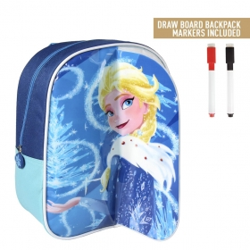 Plecak z tablicą suchościeralną do malowania Frozen - Kraina Lodu