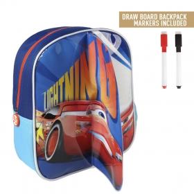 Plecak z tablicą suchościeralną do malowania Cars - Auta