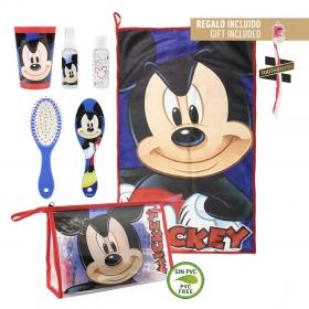 Zestaw toaletowy + ręcznik Myszka Mickey