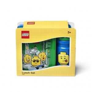Pojemnik śniadaniowy + bidon Lego