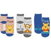 Winnie The Pooh baby socks 3 pack