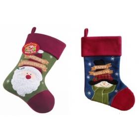Skarpeta świąteczna na prezenty / Mikołaja