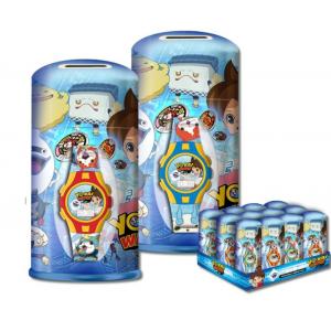 Zegarek na rękę w pudełku metalowym Yo-Kai Watch - losowy wzór