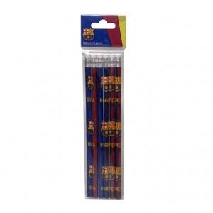 Ołówek z gumką 6 szt. FC Barcelona