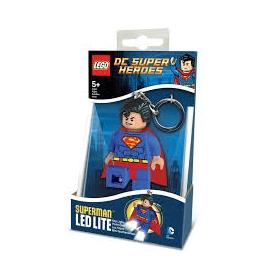 Brelok do kluczy z latarką - Lego DC Super Heroes Superman