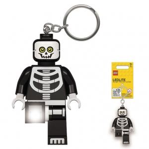 Brelok do kluczy z latarką - Lego Kościotrup