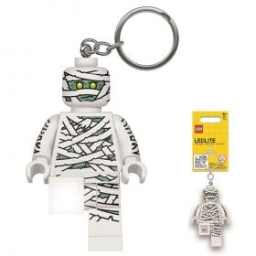 Brelok do kluczy z latarką - Lego Mumia
