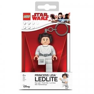 Brelok do kluczy z latarką - Lego Star Wars Księżniczka Leia