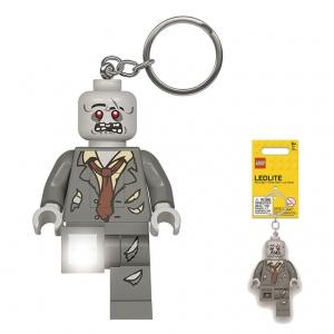 Brelok do kluczy z latarką - Lego Zombie