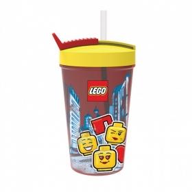 Kubek ze słomką Lego Iconic