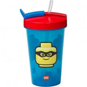 Kubek ze słomką Lego Iconic - Classic