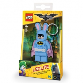 Brelok do kluczy z latarką - Lego Batman Movie Bunny Batman
