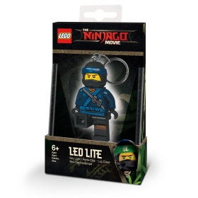 Brelok do kluczy z latarką - Lego Ninjago Movie Jay