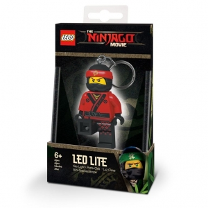 Brelok do kluczy z latarką - Lego Ninjago Movie Kai
