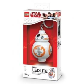 Brelok do kluczy z latarką - Lego Star Wars BB-8