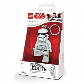 Brelok do kluczy z latarką - Lego Star Wars First Order Stormtrooper