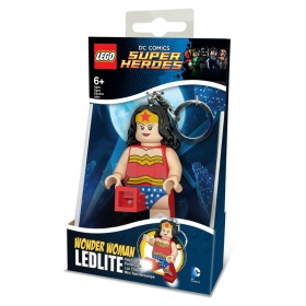 Brelok do kluczy z latarką Lego Super Heros Wonder Woman