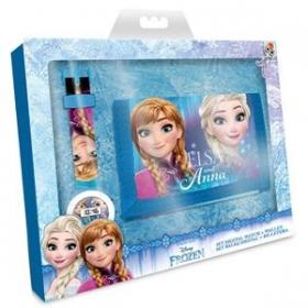 Zestaw prezentowy: zegarek na rękę i portfel Frozen - Kraina Lodu