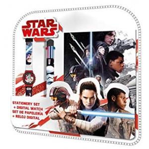 Zestaw prezentowy: zegarek na rękę, długopis i pamiętnik Star Wars