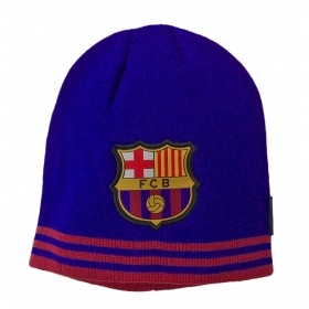 Czapka jesienna / zimowa FC Barcelona