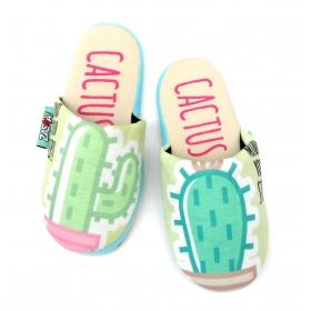 Kapcie / pantofle Zaska - Kaktusy
