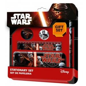 Zestaw szkolny - piórnik + akcesoria Star Wars